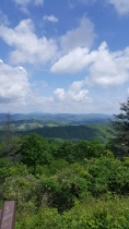 Blue Ridge Mountains in NC