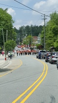 A Shriner's parade welcomed me in Blowing Rock NC
